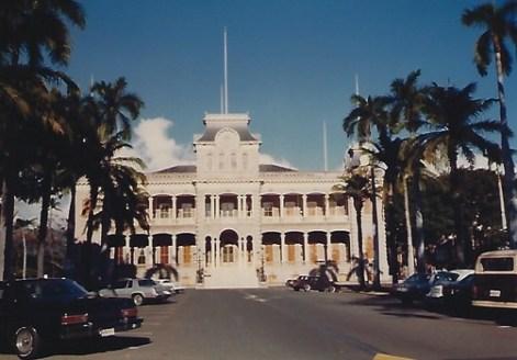 Iolani Palace 80's