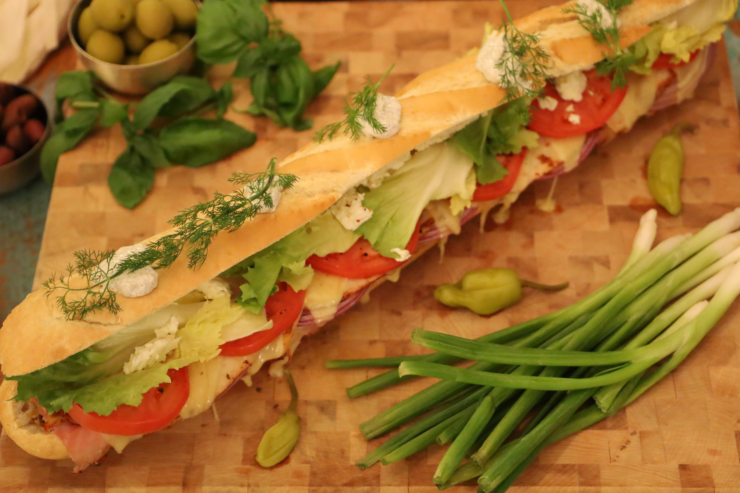 Sandwiches:  Between the Slices