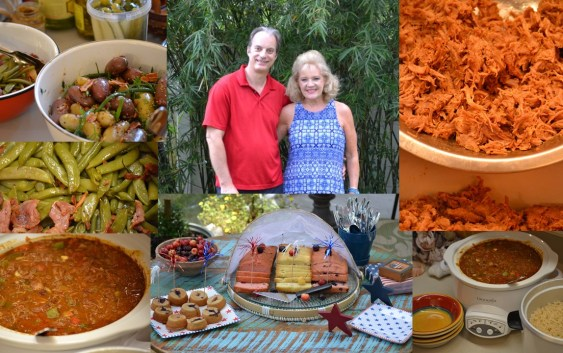 Our New Orleans Style 4th. of July Foods (Tasso Seasons)