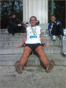 Barefoot Rick' 2006 Chicago Marathon Report