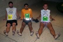 Barefoot Marathon Runner Feet