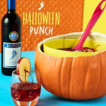 Halloween Cocktail Recipes for Punch Bowl