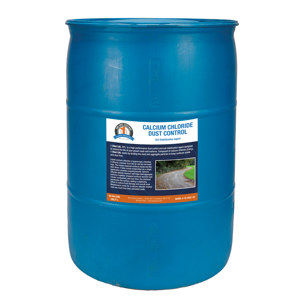 One Shot Calcium Chloride Dust Control - 30 Gallons