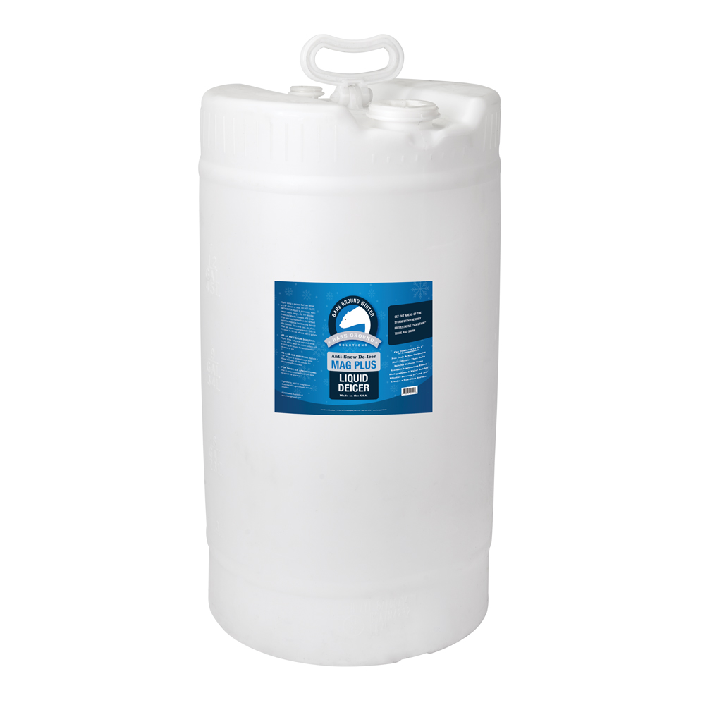 Bare Ground Mag Plus Liquid Deicer - 15 Gallon Drum