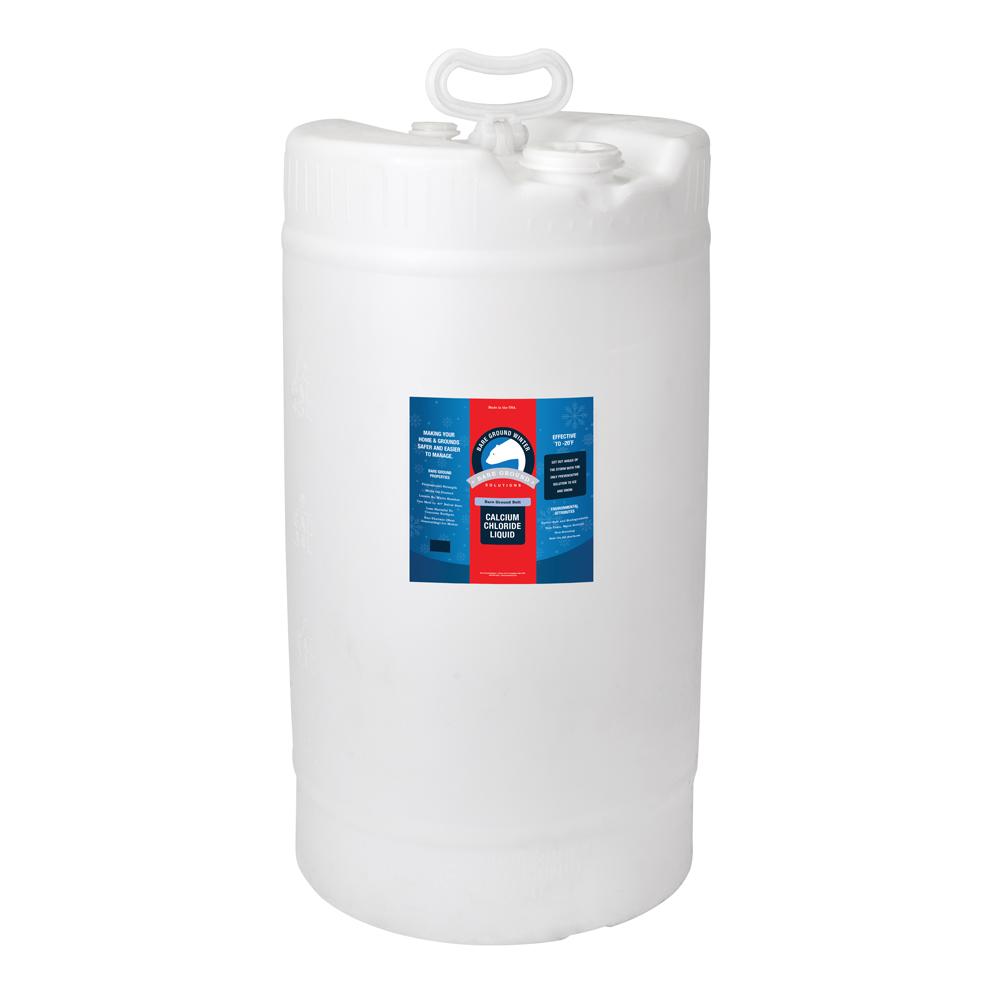Bare Ground Bolt Liquid Calcium Chloride - 15 Gallon Drum