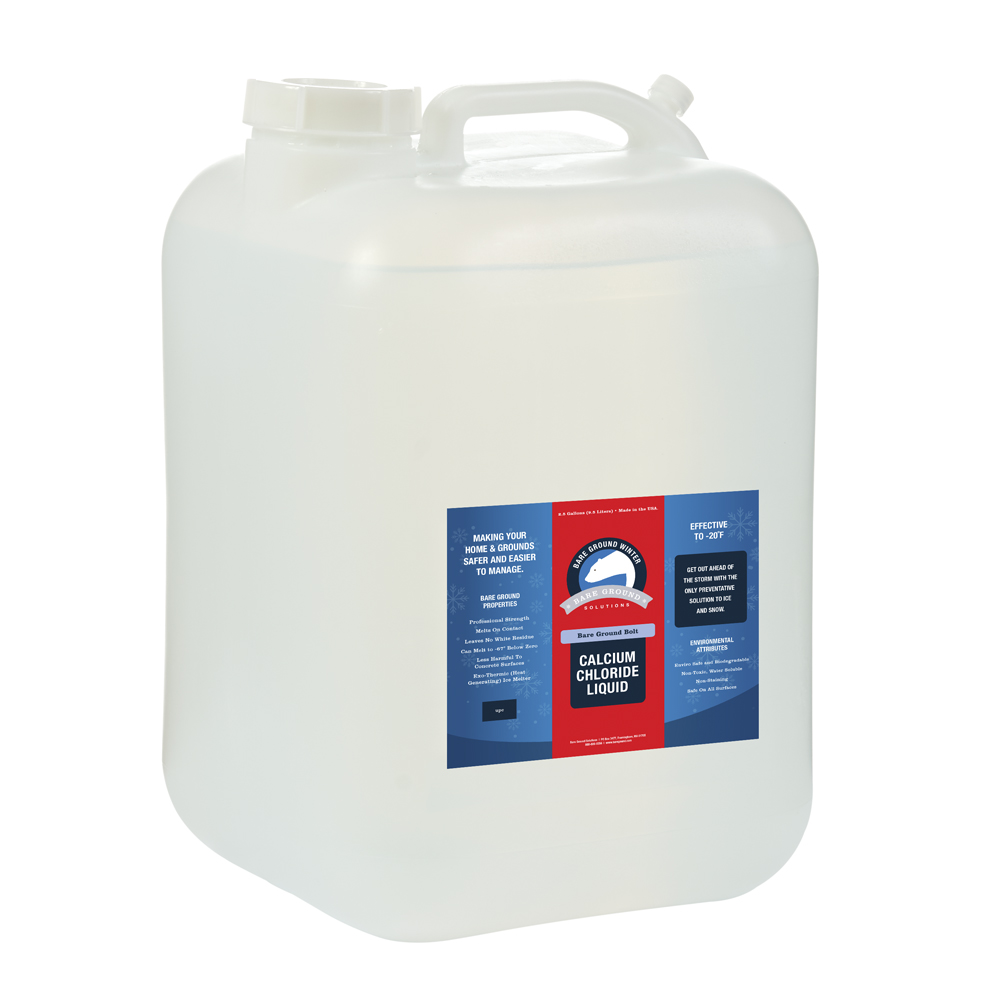 Bare Ground Bolt Liquid Calcium Chloride - 5 Gallon