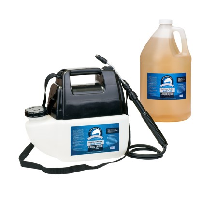 Bare Ground Mag Plus Liquid Deicer with Battery Powered Sprayer