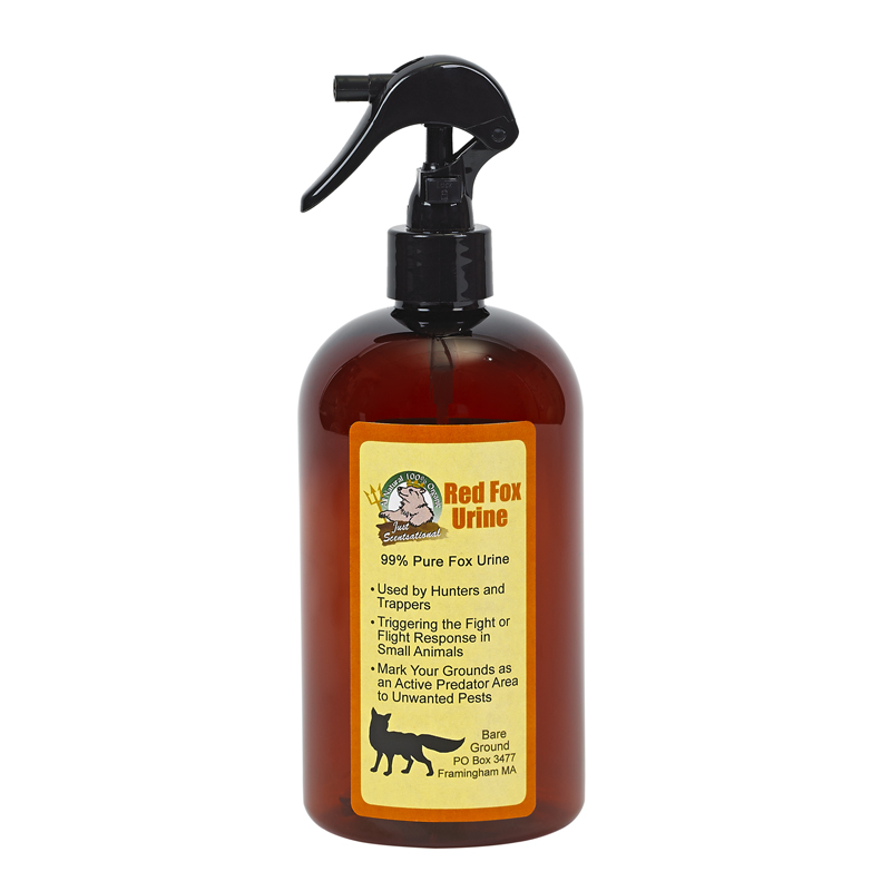Just Scentsational Fox Urine Predator Scent 16 oz Trigger Sprayer