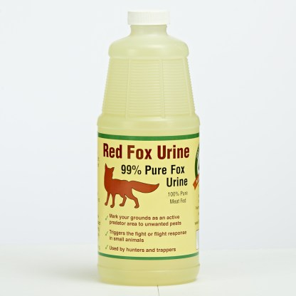 Just Scentsational Fox Urine Predator Scent Quart Bottle