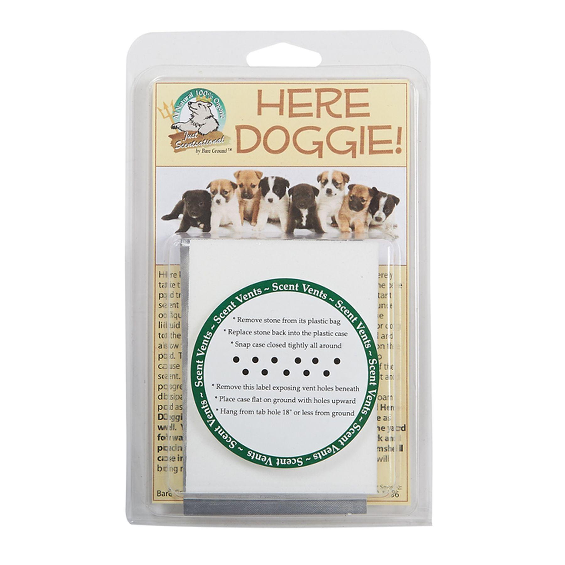 Just Scentsational Here Doggie Indoor Dog Trainer