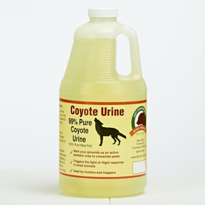 Coyote Urine Predator Scent Half Gallon