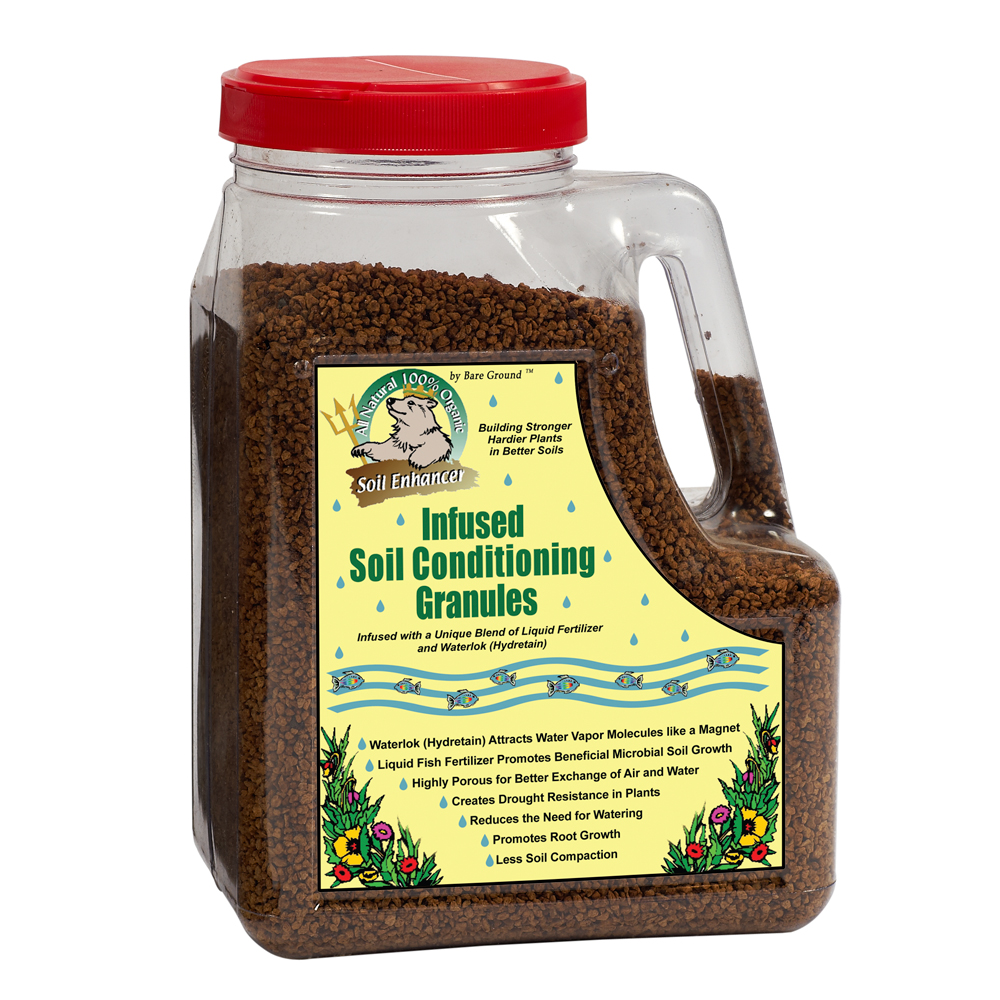 Just Scentsational Trident's Pride Fish Fertilizer 5lb Jug Soil Conditioning Granules