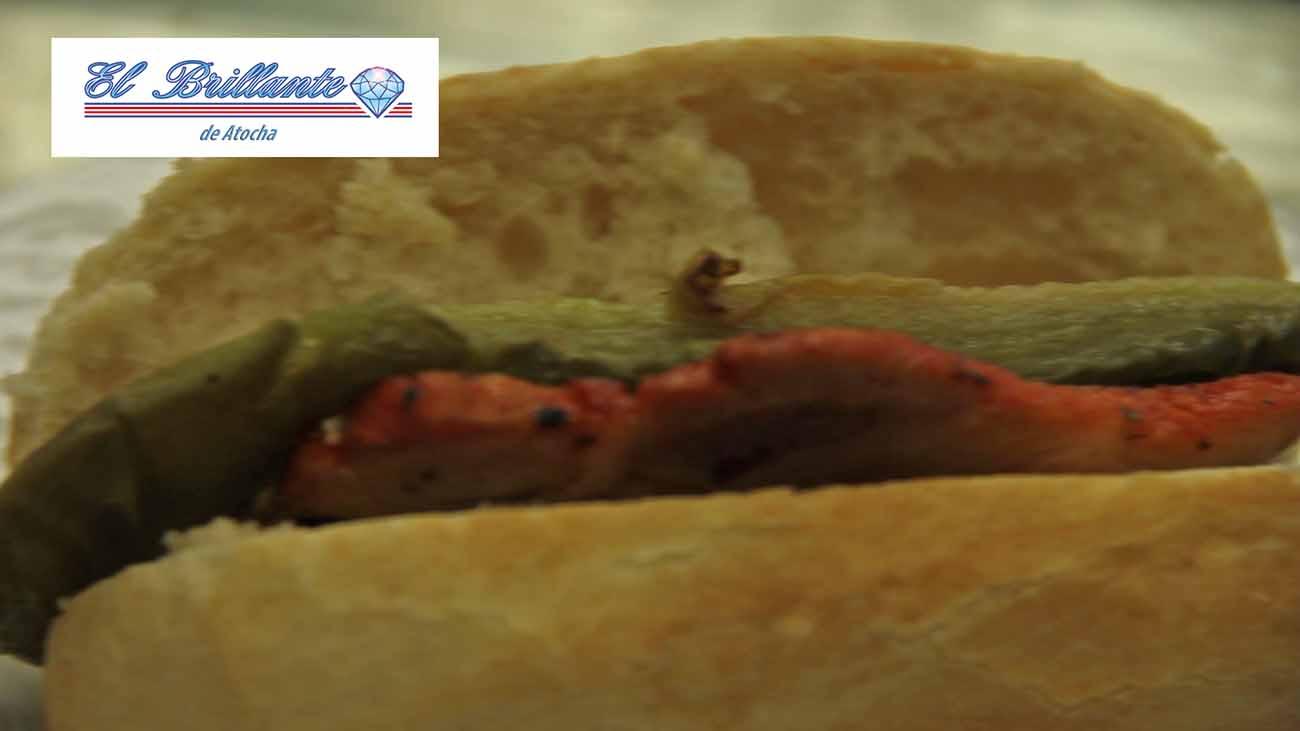 Mini-Bocadillo de Lomo con Pimientos - EL BRILLANTE