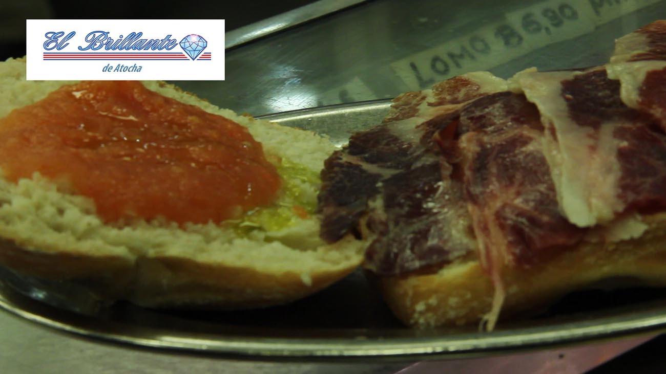 Jamón con Tomate - EL BRILLANTE