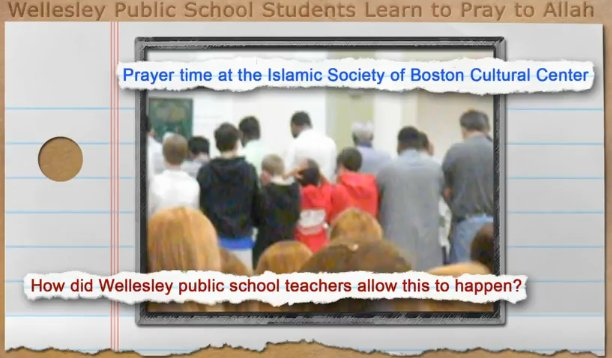 In Masschusetts, non-Muslim students were forced to visit a mosque and recite Islamic prayers while there