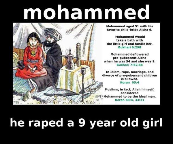 MohammedPedophile