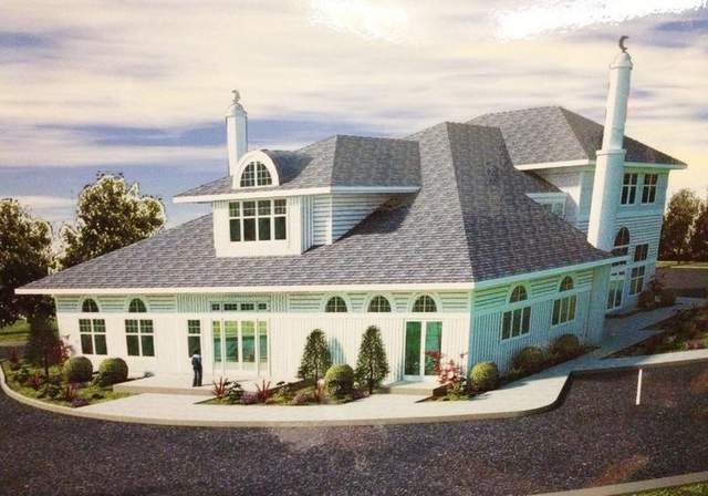 Proposed mosque that would replace the home. Notice the two towering minarets that shout out 'BEWARE! Muslims on board'