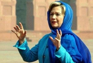 hillary-in-blue-hijab-300x205