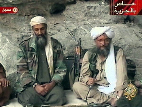 Osama bin Laden and Ayman Zawahiri