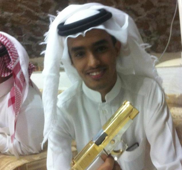 Abdulrhman Ali Alharbi seen in a Facebook posting.