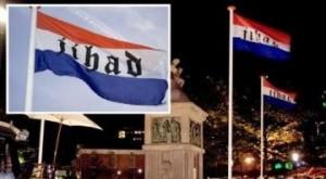 Jihad flag Gobot festival Enschede