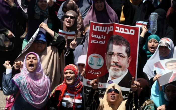 Pro-Morsi Supporters