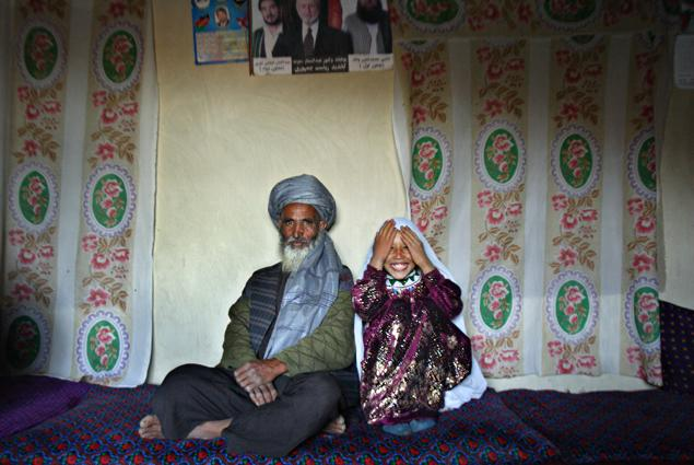 Afghanis love their child brides