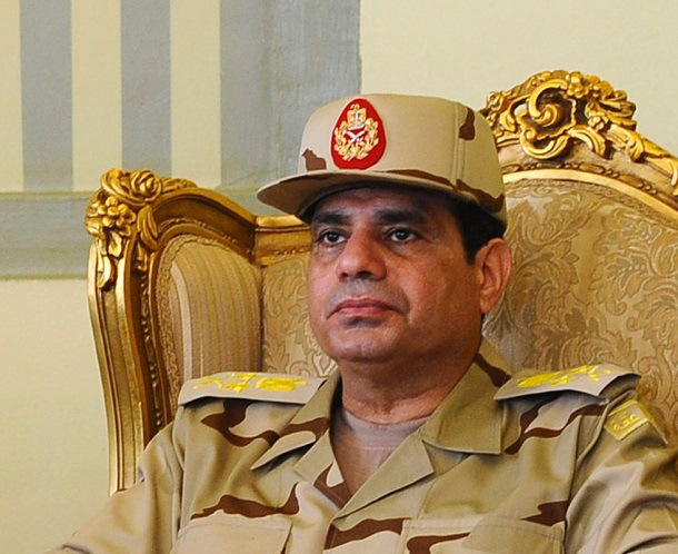 Defense Minister General Abdul Fatah Al-Sisi (left), who instigated the Coup d'Etat directed against President Morsi is a graduate of the US War College, Carlisle, Pennsylvania