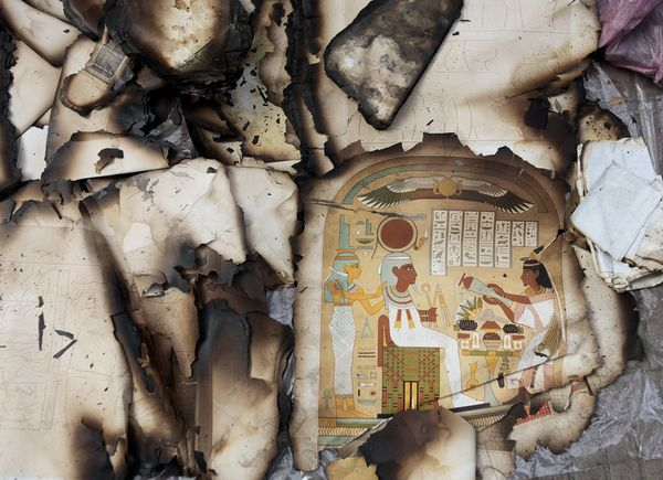 cairo-institute-library-burns-egypt-illustration_45991_600x450