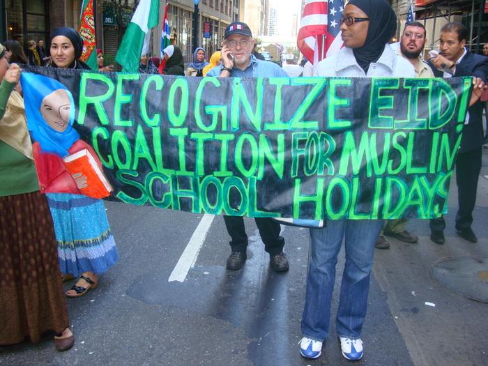SUNDAY, SEPT. 22nd, NYC MUSLIM DAY PARADE where Muslims