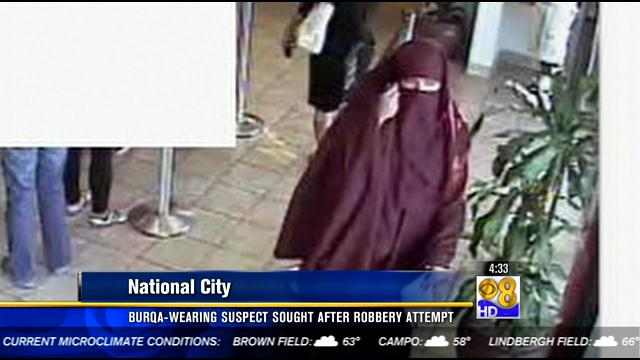 Burqas have not become the preferred disguise of bank robbers