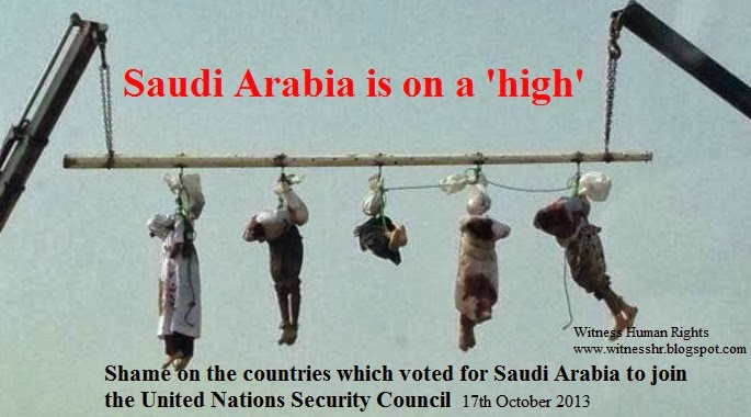 WHR-Apartheid Saudi Arabia beheads five Yemenis and displayed their bodies in public