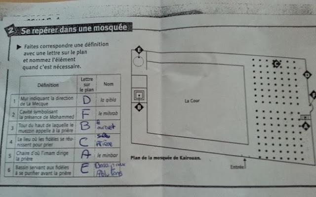 Why are French schoolchildren in public school being