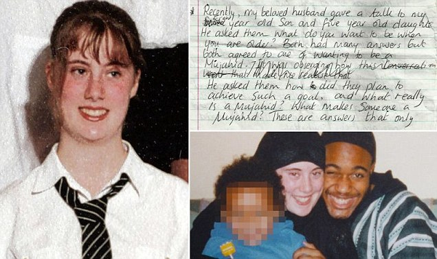 Lewthwaite's secret diary,  reveals her pride and affection for her 7/7 bomber husband as well as her views on the necessity of violence against non-Muslims