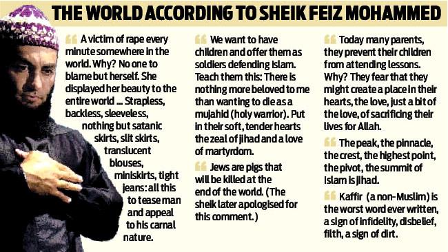 Popular Muslim sheik in Australia