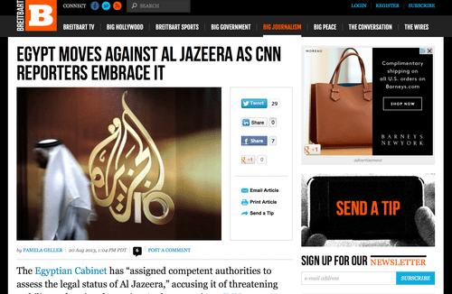 Al-JAZEERA: Too radical... even for Egypt
