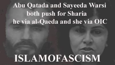 Abu Qatada and Sayeeda Warsi for Sharia