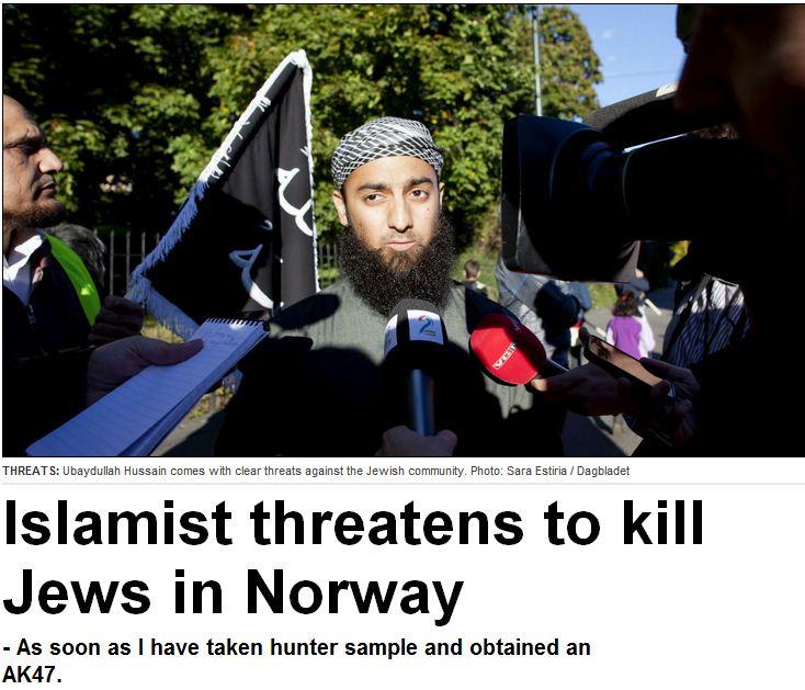 muslim-fundamentalist-threatens-to-kill-jews-in-norway-25.10.2012