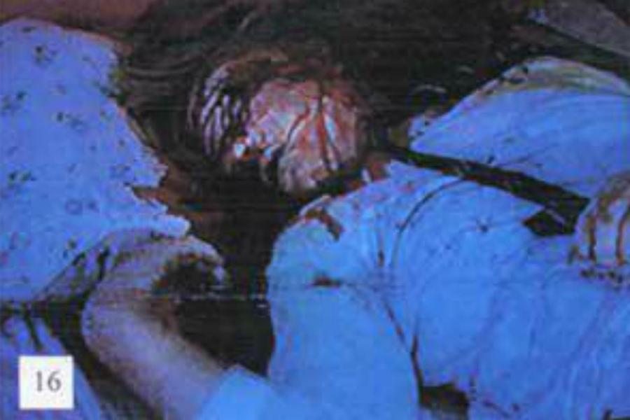 chica blanca asesinada sudáfrica