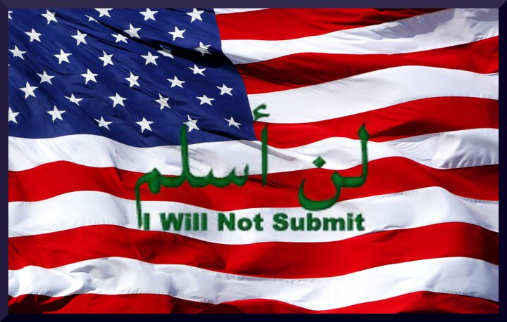 I-will-not-submit-US-flag