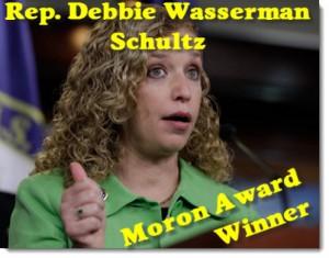 debbie-wasserman-schultz-moron-award-winner-300x235