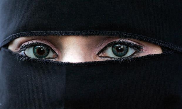 El niqab musulmán