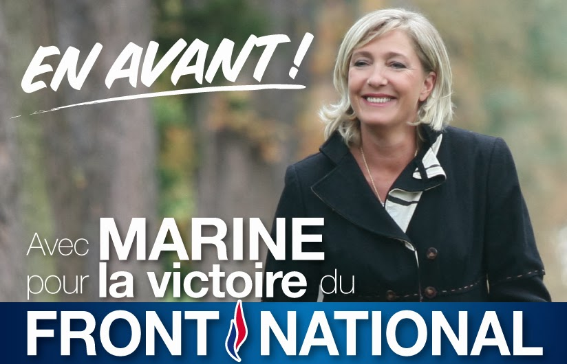 FORWARD with Marine LePen and Front National