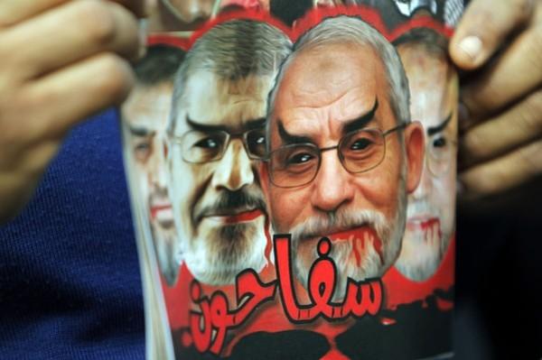 Lo que el pueblo egipcio piensa de Morsi y Badie y la Hermandad Musulmana