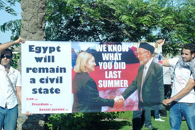 Ex embajador de Obama en Egipto, Anne Patterson, haciendo agradable Mohammed Badie