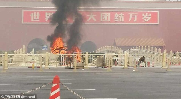 Uighur Muslim car bomb attack in 2013