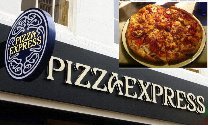 Pizza Express restaurant. The owner of Pizza Express said today