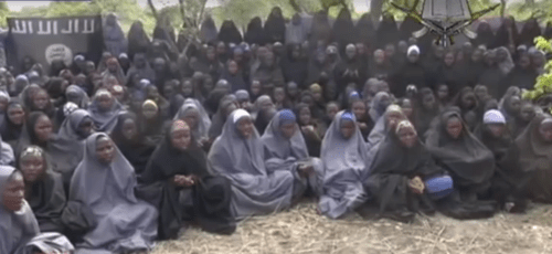 Formerly Christian schoolgirls, now forcibly converted to Islam