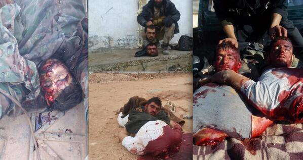 Suggest you Christians being beheaded in syria