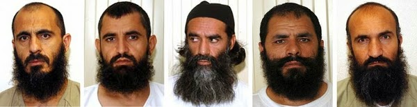 Five Taliban Terrorists released from Gitmo in exchange for Bergdahl